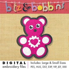 Digital Embroidery Design Stitching Ideas: baby bib, onsie, baby blanket, towel  INSTANT DOWNLOAD DIGITAL FILE: Includes PDF color sheet and 2