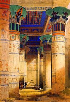 Portico-of-the-Temple-of-Isis-at-Philae.jpg (465×675)