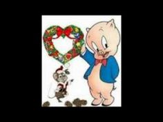 i just know youve been waiting for it the classic porky - Porky Pig Blue Christmas Video