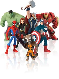 Marvel-character-lineup Disney Infinity