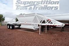 Ranco LW21-40 Belly Dump Trailer for sale at Superstition Trailers in Phoenix, AZ. www.stlaz.com