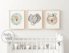 Baby Nursery Art, Baby Room Art, Baby Wall Art, Baby Room Decor, Boy Room, Nursery Decor, Newborn Room, Butterfly Art, Beige Walls