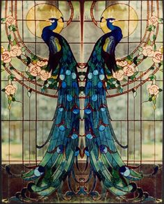 art nouveau style ·»·Stunning·«· Traced the original image back to here at a bed & breakfast in new orleans. Still wonderful.