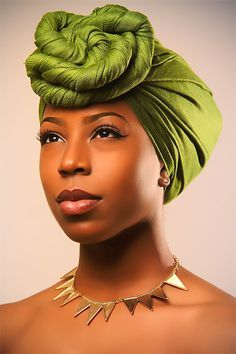 Head wrap styles are awesome for bad hair days, protective styles or just regular glam - check out our gallery of 36 gorgeous head wrap styles African Beauty, African Fashion, Nigerian Fashion, Ghanaian Fashion, African Style, African Makeup, African Hair, African Dresses For Women, African Women
