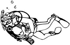 Image result for scuba clipart