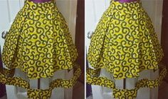 African print midi skirt with mesh insert African dress shop theafricanshop African clothing African print dress African wax print USD) by FashAfrique African Print Skirt, African Print Dresses, African Print Fashion, Latest African Fashion Dresses, African Dresses For Women, African Attire, Ankara Stil, African Shop, African Traditional Dresses