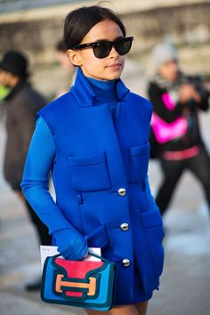 Fresh out of Paris, see the latest snaps from street style.