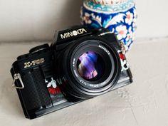 Minolta X-700 functional vintage camera 35mm film by FolkCamera