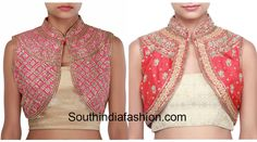 jacket_style_blouse_designs