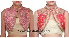 jacket_style_blouse_designs