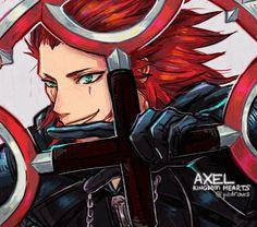 kingdom hearts axel | Tumblr