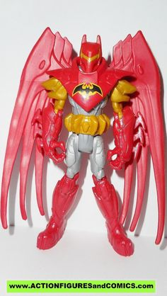 Mattel toys action figures for sale to buy BATMAN UNLIMITED AZRAEL/ KNIGHTFALL batman (Red/gold suit, Gotham City showdow) 100% COMPLETE Condition: Excellent. nice paint, nice joints. nothing broken,