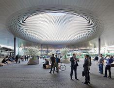 Messe Basel New Hall,© Hufton + Crow