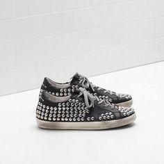 huge discount 36cda 7cd8f 2017 Scarpe GGDB Superstar Golden Goose Uomo Sneakers Goujons nero Baskets Golden  Goose, Golden Goose