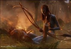 Neytiri and her father image by musicislife7463 - Photobucket