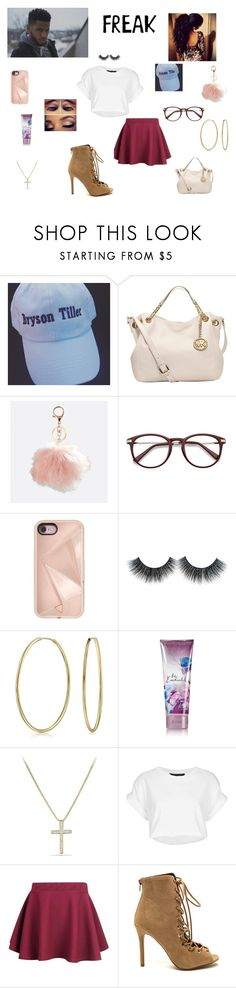 """Bryson Tiller pt2"" by queenraina1 on Polyvore featuring MICHAEL Michael Kors, Avenue, Rebecca Minkoff, Bling Jewelry, David Yurman, Topshop and tarte"