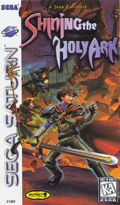 Shining the Holy Ark - first person role-playing game released for the Sega…