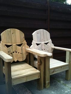 Stormtrooper pallet chair
