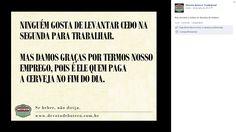 Conteúdo produzido para o Facebook Devoto de Boteco.