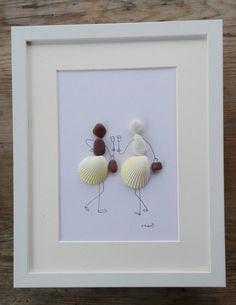 Pebble art friends Friends pebble art by pebbleartSmiljana on Etsy