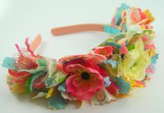 Scrappy Raggy Fabric Headband