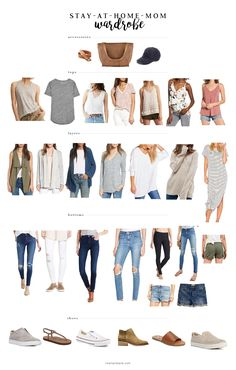 basic spring summer capsule wardrobe 86 outfits for stay at home