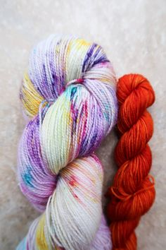 Anna  Sock Set  Dyed to Order  100g  20g  Hand Dyed by NorahGeorge