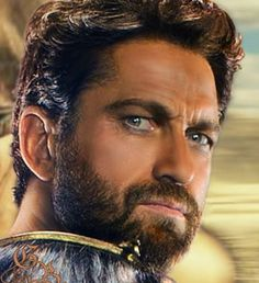 Wow,  he's beautiful!  ~ Gerard Butler -- God's of Egypt