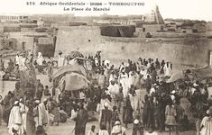 Tombouctou-La Place du Marché (AOF) - French West Africa - Wikipedia