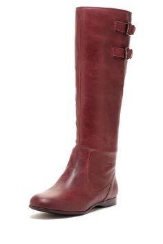 Enzo Angiolini Zayrynn Flat Riding Boot by Sunday Shoe Steals on @HauteLook