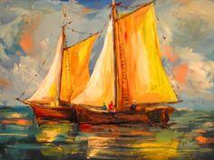 Cuadro pintado al oleo | pintura con espatula | Pinterest