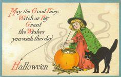 Halloween Postcard on Flickr.