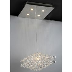 288 Maria Crystal Chandelier | Overstock.com Shopping - Great Deals on Warehouse of Tiffany Chandeliers & Pendants