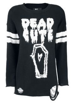 Iron Fist Dead Cute Torn Sweater | Attitude Clothing