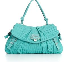 Love this color Guess tiffany blue purse