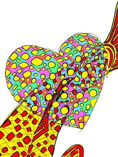 Heart #heart #nuinui #graphicart