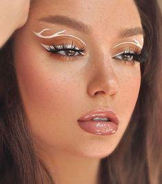 Fancy Makeup, Edgy Makeup, Makeup Eye Looks, Creative Makeup Looks, Eye Makeup Art, Crazy Makeup, Cute Makeup, Pretty Makeup, Skin Makeup