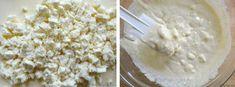 Καλαμποκόψωμο με φέτα πανεύκολο σε 30 λεπτά | Συνταγές - Sintayes.gr Feta, Grains, Dairy, Food And Drink, Ice Cream, Cheese, Desserts, Recipes, No Churn Ice Cream
