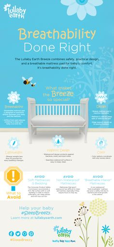 When it comes to breathability, Lullaby Earth does it right so your #baby can #SleepBreezy #ad