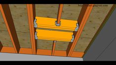 How To Repair Cut or Damaged Floor Joist – Using Double Joist and Headout