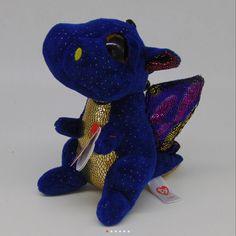 Saffire the Dragon in hand!! Ty Beanie Boos 271825f83a1d