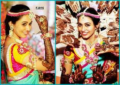 #mehendi #flower #jewellery