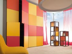 Gorgeous wardrobe with a huge selection of changable colour panels