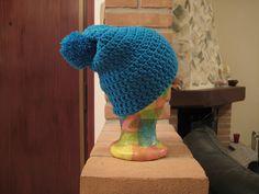 Cappello ragazza lana turchere con pompom