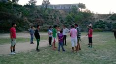 Our Sugh Bhatoli Football Team playing in home ground.