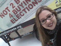 Genara Clay on Twitter: A closer look #getmoneyout #stampstampede get $ out of politics Public funding of elections #FeeltheBern #Bernie2016