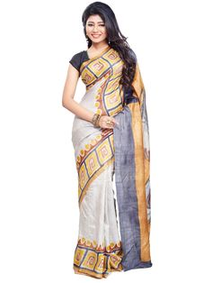 The  new destination for elegance and style with this sarees.  An awesome and unique Hand painting saree