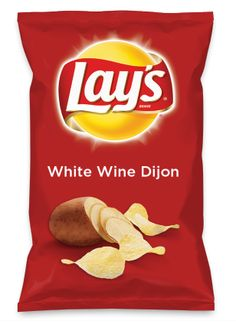 Pass the chips instead of the jar of Grey Poupon! #lays #dousaflavor #yummy Wouldn't White Wine Dijon be yummy as a chip? Lay's Do Us A Flavor is back, and the search is on for the yummiest flavor idea. Create a flavor, choose a chip and you could win $1 million! https://www.dousaflavor.com See Rules.