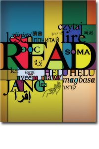 Multicolor Multilingual Poster - I Love Libraries - Posters - Products for Children - Products for Young Adults - ALA Store