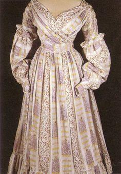 Romantic History: 1830's Christmas Dress